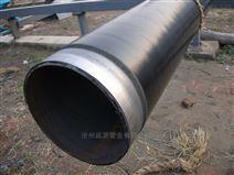 219包覆式三层PE防腐螺旋钢管诚源管业厂商