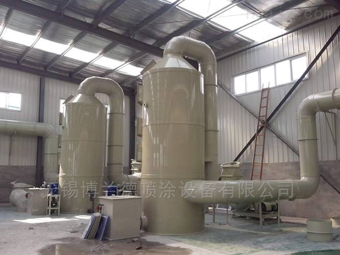 PP酸雾喷淋塔,工业废气净化喷淋设备价格