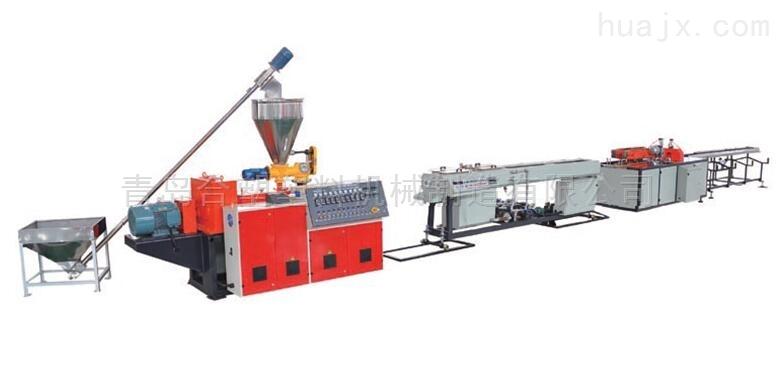 合塑PVC双管生产线