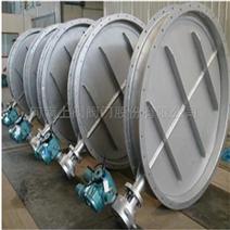大口径电动法兰式通风蝶阀优点及规格