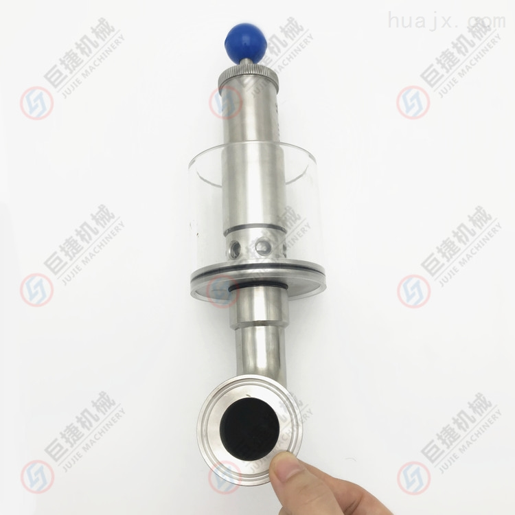 304不锈钢水封式可调排气阀 罐体泄压阀