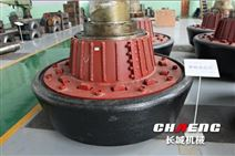 新乡长城专业加工大型立磨磨辊辊套铸钢件