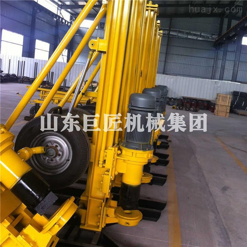 巨匠供应KQZ-200D型气动水井钻机