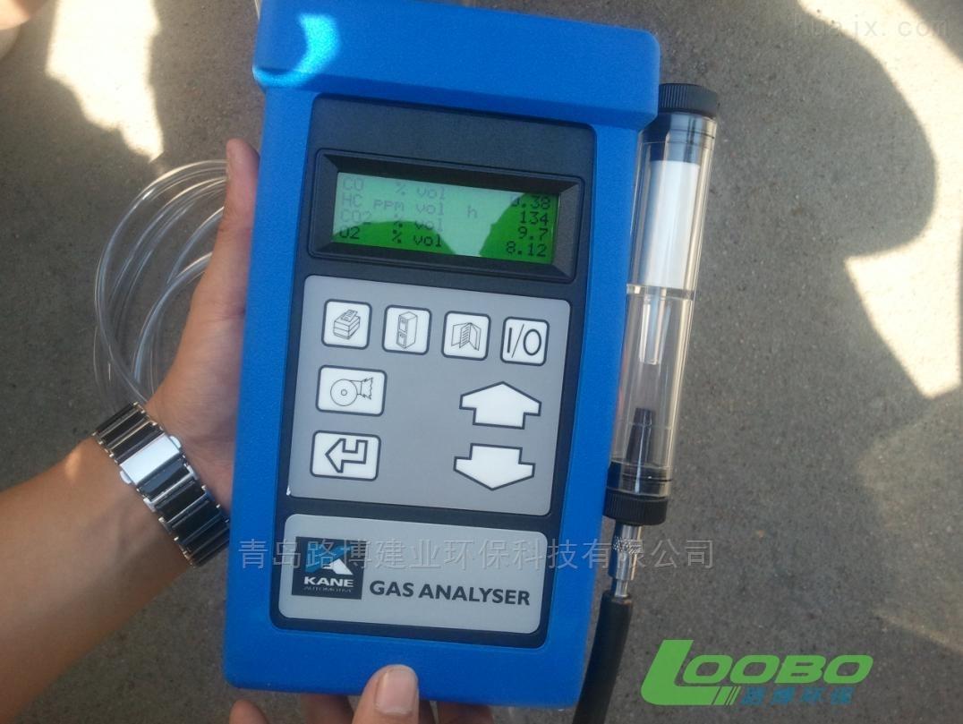 AUT05-1汽车尾气分析仪在济南环保局的使用
