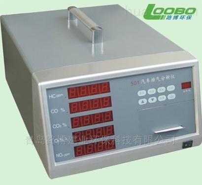 生产厂家--LB-501型五组分汽车尾气分析仪