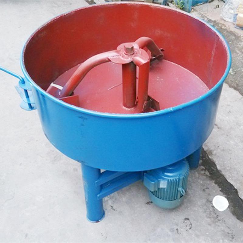 小型水泥搅拌机 电动立式平口砂浆拌搅机图片