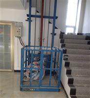 导轨式液压升降货梯 电动液压式升降平台